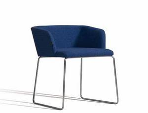 Concord 521BV, Moderner Sessel mit Kufengestell