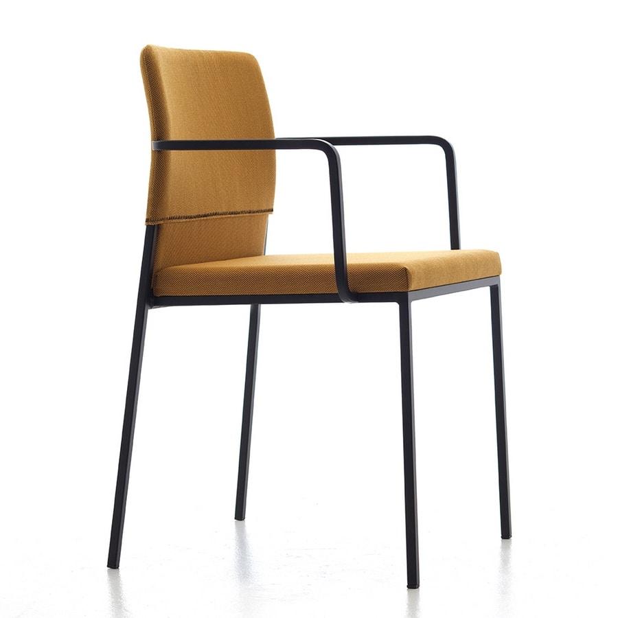 Hat AR, Stapelbare Sessel, in verschiedenen Farben, für den Objektbereich