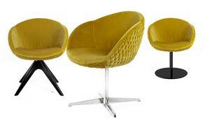 Jennifer, Kleiner Sessel mit abgerundeter Form