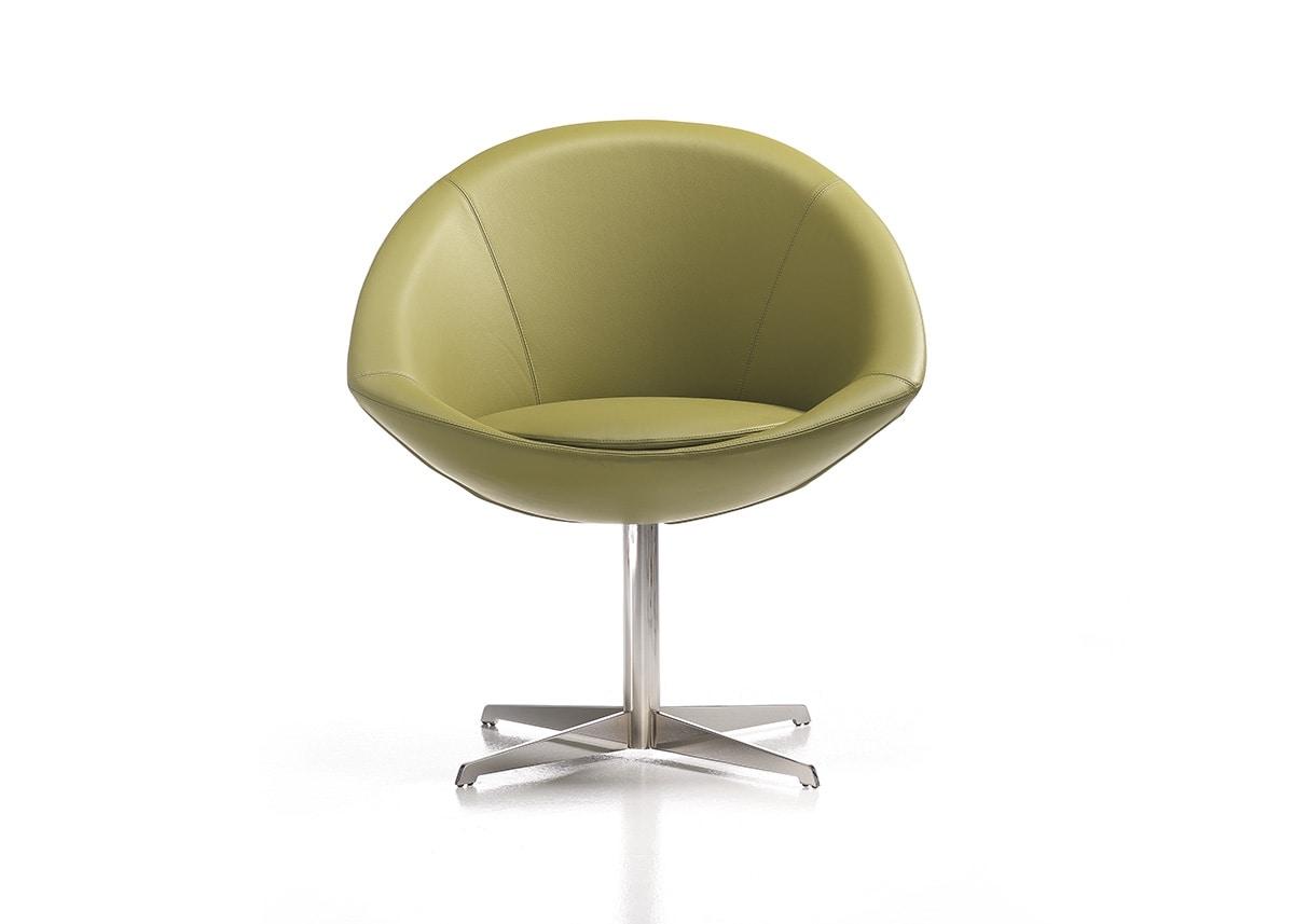 Sessel mit Drehgestell | IDFdesign