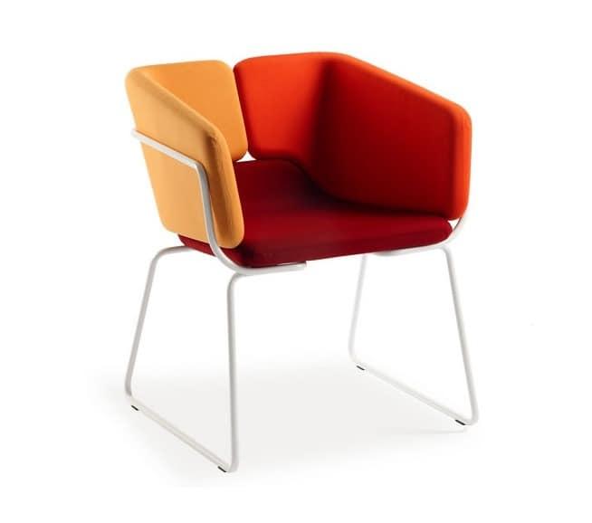 Moderne sessel bequem und vielseitig f r b ros hotels for Sessel bequem