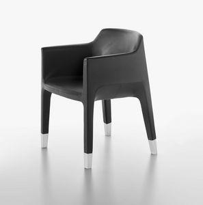 Mon Ami 1900-12, Sessel mit Stahlgestell, Chrom Beine, für Wartezimmer