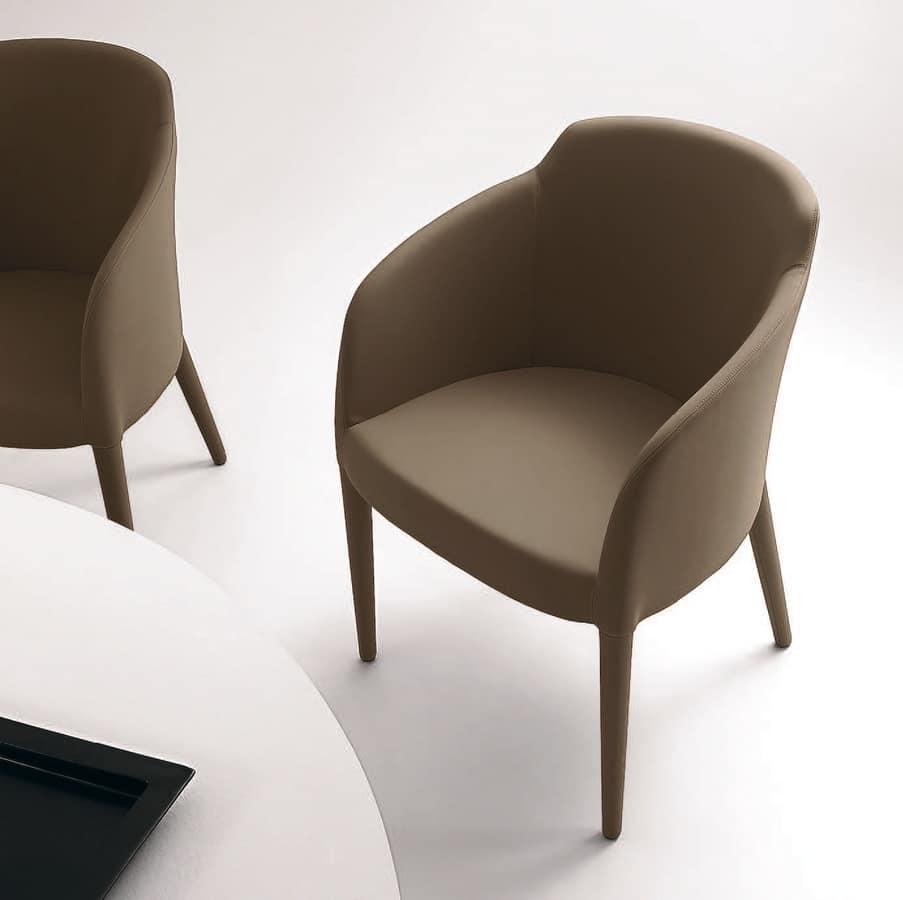 PL 5000, Sessel mit Holzbeinen, in verschiedenen Farben