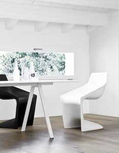 Pulp, Stuhl mit alternativer Form, ganz aus Polypropylen