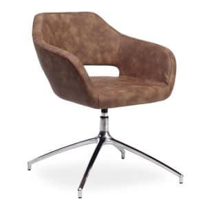 Regan, Sessel mit Drehsitz für Büros geeignet