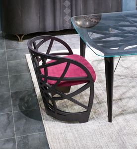 SE54 Galileo, Sessel mit Eichenholzstruktur