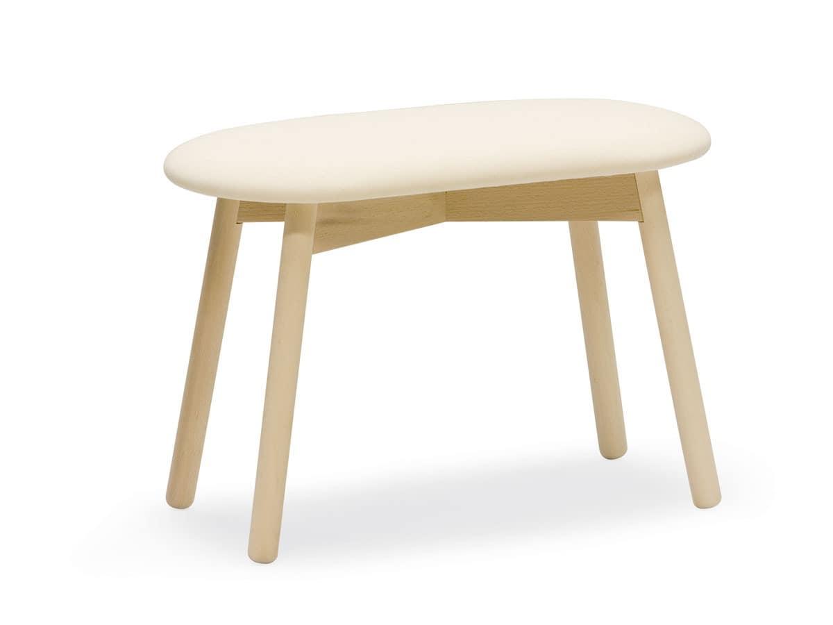 2 sitzer stuhl mit gepolstertem sitz idfdesign. Black Bedroom Furniture Sets. Home Design Ideas