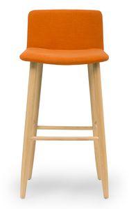 Web stool, Moderner gepolsterter Hocker
