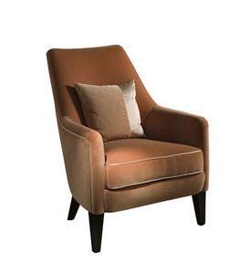 Adele, Sessel mit unterschiedlicher Dichte Polsterung
