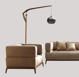 Alba Sessel, Sessel mit Webstoff