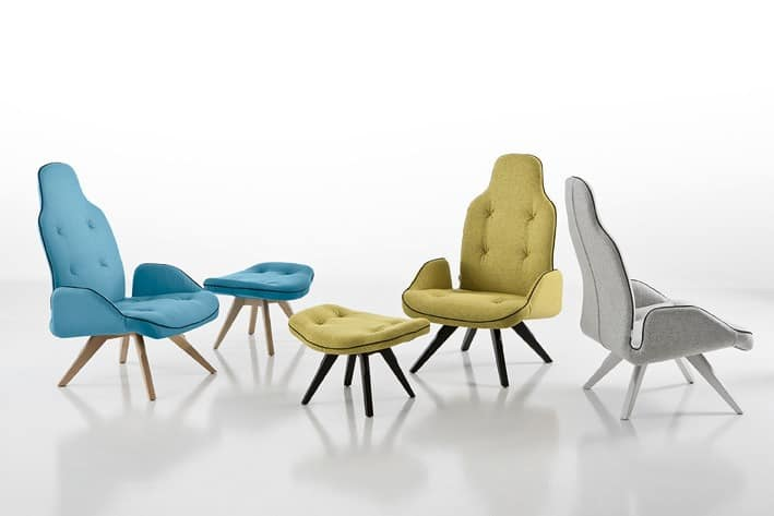 betib p polster sessel bequemer sessel sessel mit. Black Bedroom Furniture Sets. Home Design Ideas