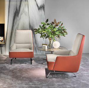 Cassandra Sessel, Sessel für Räume, die der Gastfreundschaft gewidmet sind