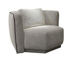 Cementina Sessel, Moderner Sessel mit sechseckiger Basis