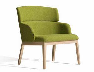Concord 525UM, Sessel aus Holz mit anpassbarem Bezug