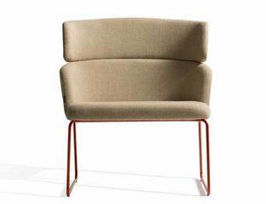 Concord 525UV, Bequemer Sessel mit Metallkufengestell