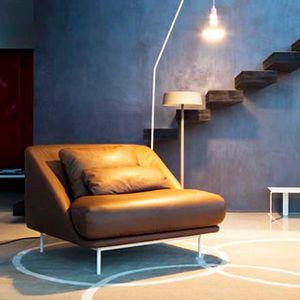 Daytona Sessel, Sessel mit geschwungenen Formen, für Wohnzimmer und Ruhezonen