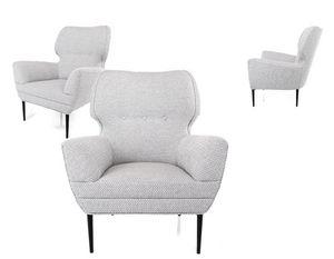 Demi, Hübscher Sessel in Design und Formen