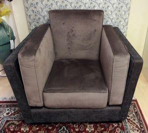 Dietrech-Sessel, Sessel mit zweifarbiger Polsterung