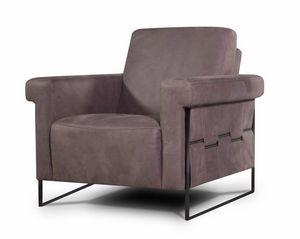 Habitat, Sessel aus Quaderstoff