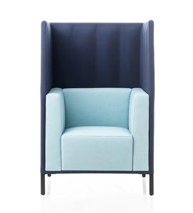 Kontex Sessel mit hoher Rückenlehne, Sessel mit hoher Rückenlehne für mehr Privatsphäre