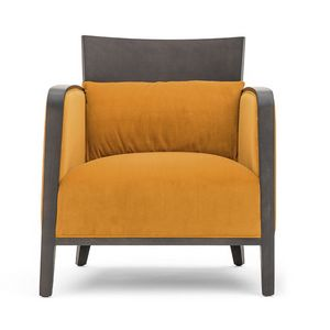Logica 00942, Massivholz Sessel für Lounge-Bereiche