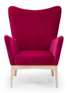 Love lounge, Lounge Sessel mit hoher Rückenlehne