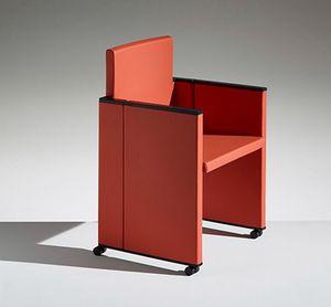 ON TIME, Wiederverschließbarer Sessel für Mehrzweckumgebungen