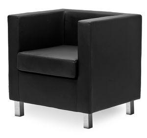 Paris 1P, Bequemer Sessel, in nicht verformbarem Polyurethanschaum