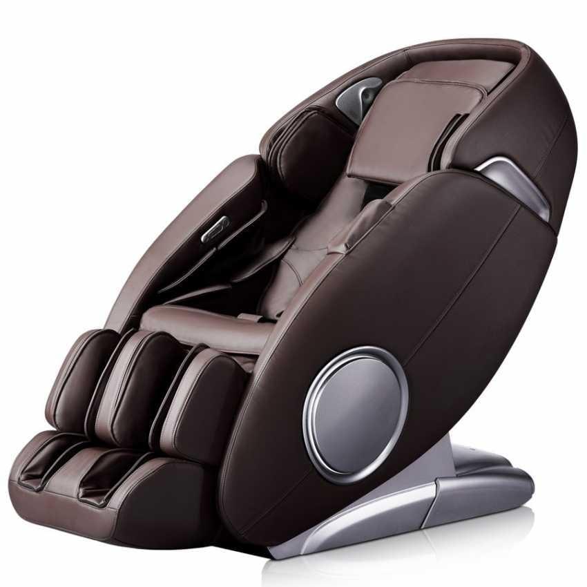 Massage Ledersessel Mit Fußstütze Idfdesign