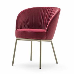 Rose 03930 - 03931 - 03934, Sessel mit geschäumter Schale