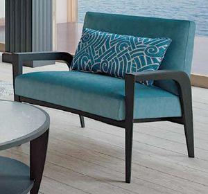 TESEO Poltrona, Moderner Sessel mit breiter Sitzfläche