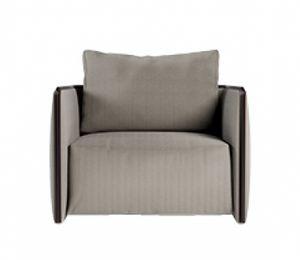 Trust Sessel, Sessel mit Kissen mit abnehmbarer Polsterung