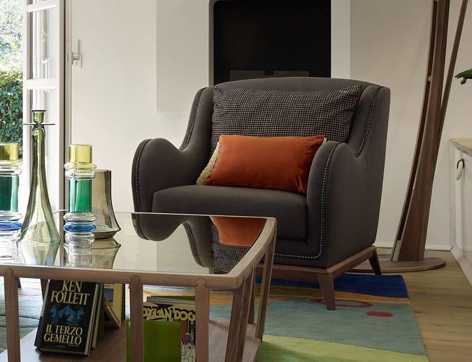 Wave Sessel, Sessel Für Zeitgenössische Wohnzimmer