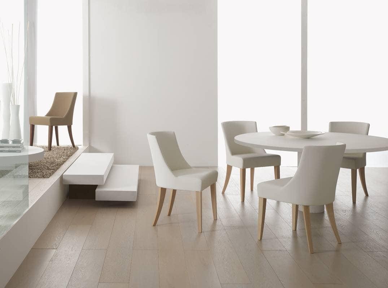 Stuhl gepolstert mit schaum f r speises le idfdesign for Stuhl gepolstert