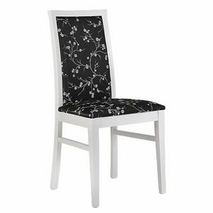 315 B, Gepolsterter Stuhl aus Buchenholz