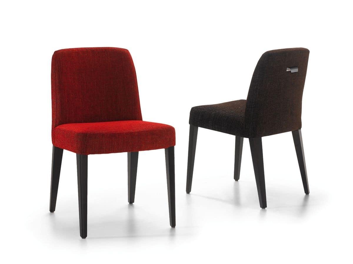 Stuhl Aus Stoff Für Küche Und Esszimmer Bedeckt