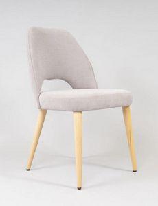 BS480S - Suhl, Moderner Stuhl mit Stoffbezug