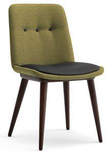 Cass-S, Gepolsterter Stuhl für Hotels und Restaurants