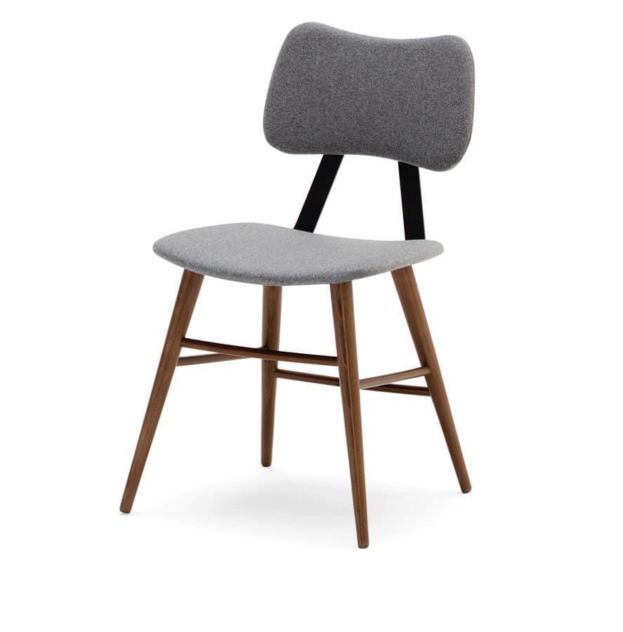 lehrstuhl f r buchenholz sitz und r cken gepolstert idfdesign. Black Bedroom Furniture Sets. Home Design Ideas