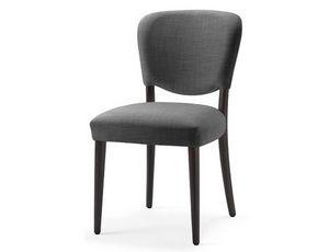 Mia-S, Stuhl mit Sitz und Rückenlehne mit feuerhemmendem Schaumstoff bezogen