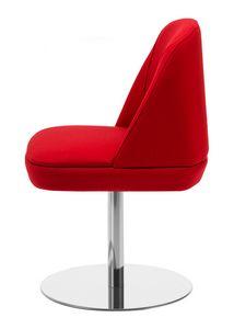 Noemi 1, Stuhl mit rundem Metallgestell