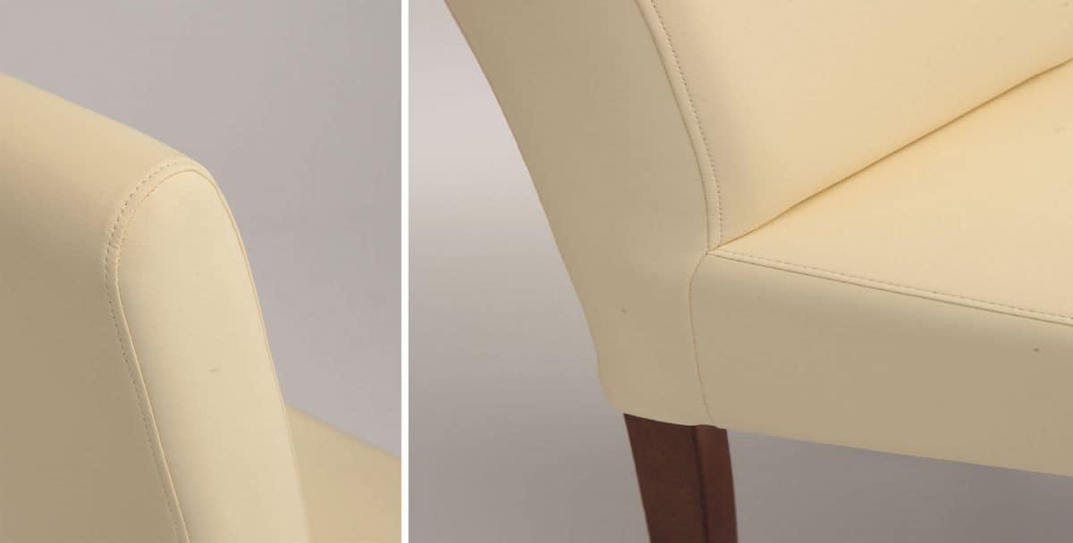 SE 1013, Moderne Polstersessel ideal für Esszimmer