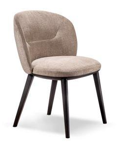 Shiba Stuhl, Gepolsterter Stuhl mit umlaufender Rückenlehne