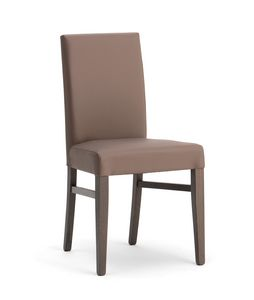 SLOT, Eleganter gepolsterter Stuhl für Esszimmer