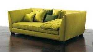 2111 Mekong, Modernes Sofa mit großer Sitztiefe