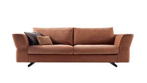 720303 Joe, Sofa mit abnehmbarer Polsterung