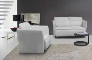 Affinity, Gemütliches Sofa ideal für Minimalisten Wohnungen oder moderne Schlafzimmer