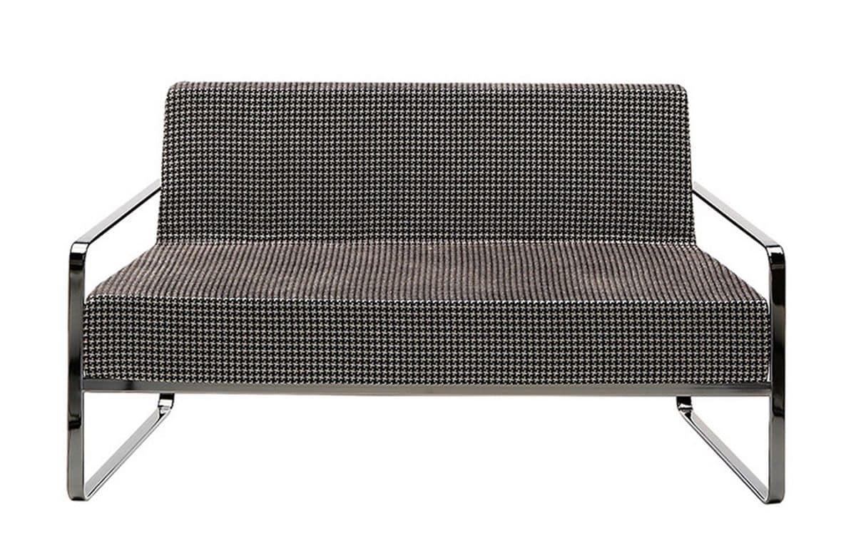 Wunderschön Zweisitzer Sofa Ideen Von Mit Metall Armlehnen Idfdesign