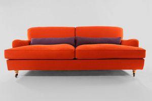 Antares, Kundenspezifisches Sofa mit Pappelrahmen