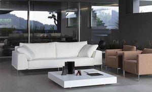 Arian, Moderne Sofa für Büro, bequeme Sitzmöbel